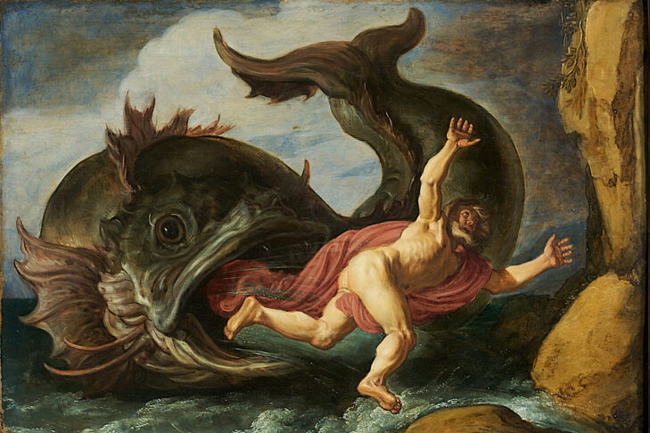 """""""Jonah and the Whale"""" by Pieter Lastman, 1621"""