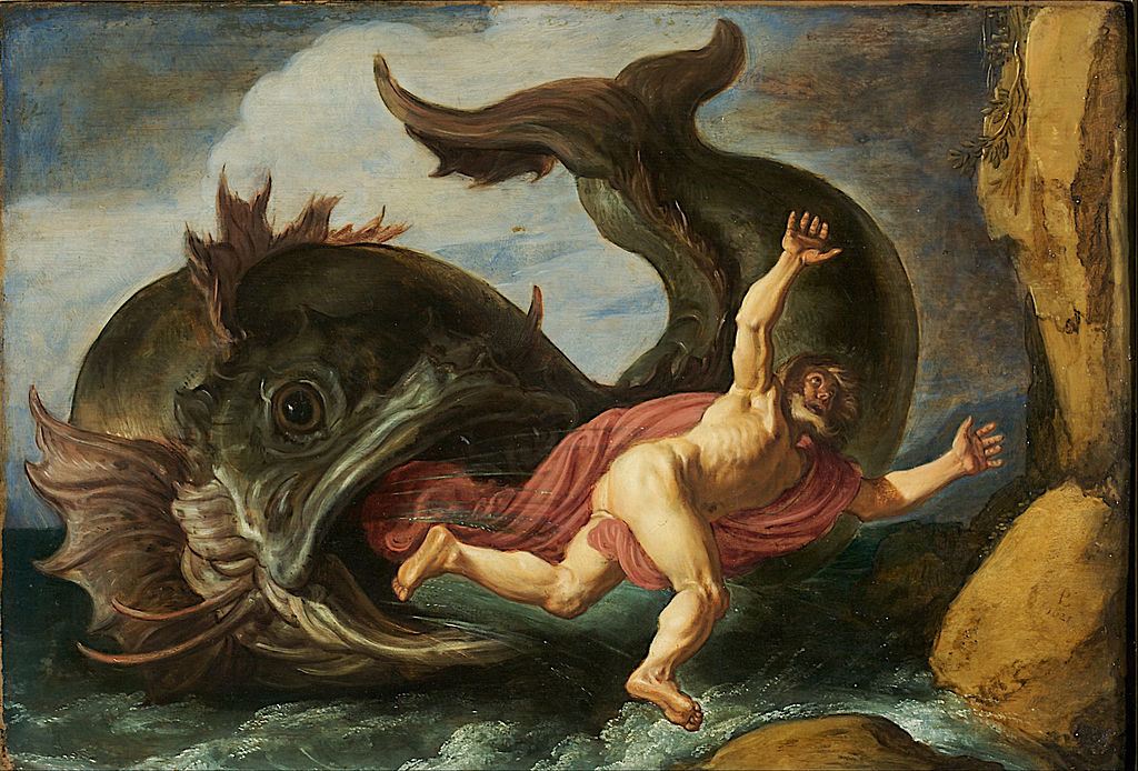 """Jonah and the Whale"" by Pieter Lastman, 1621"