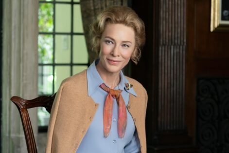 """Cate Blanchett as Phyllis Schlafly in """"Mrs. America"""" (Courtesy photo: Hulu)"""