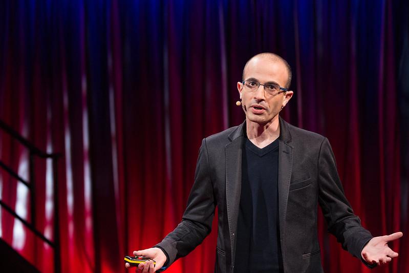 Yuval Noah Harar (Photo: James Duncan Davidson/TED)
