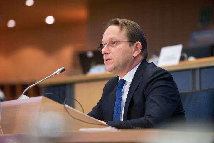 Olivér Várhelyi (Courtesy photo: European Parliament)