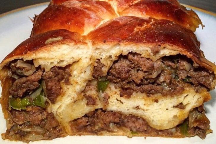Beef empanada challah (Courtesy Mandylicious Challah)