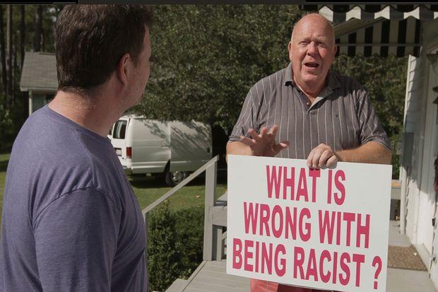 "Russ Walker in ""Viral: Antisemitism in Four Mutations"" (Promotional still: Dark Star Pictures)"