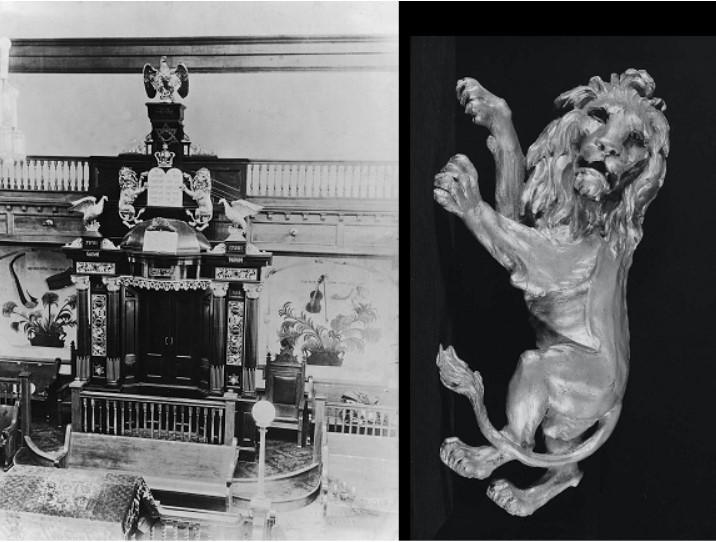 "Sam Katz, ""Gilded Lion,"" 1922-23, 60.488, Museum of Fine Arts Boston (Photograph © Museum of Fine Arts Boston)"