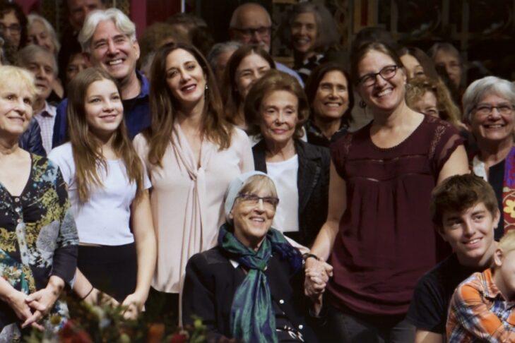 Rabbi Rachel Cowan, bottom center (Courtesy Paula Weiman-Kelman)