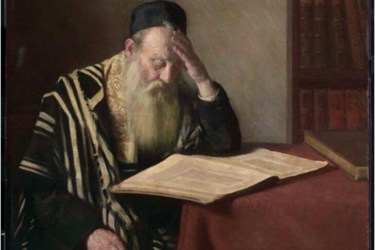 "Jacob Binder, ""The Talmudist,"" 1919 (26.201), Museum of Fine Arts Boston (Photograph © Museum of Fine Arts Boston)"