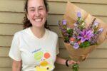 Rebecca Remis – the owner of Birdie's Blooms