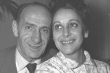 Shimon Dzigan (Photo: Hans Pinn/Israeli National Photo Archive)