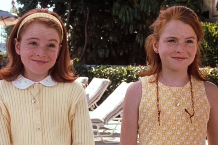 """Lindsay Lohan in """"The Parent Trap"""" (Promotional image)"""