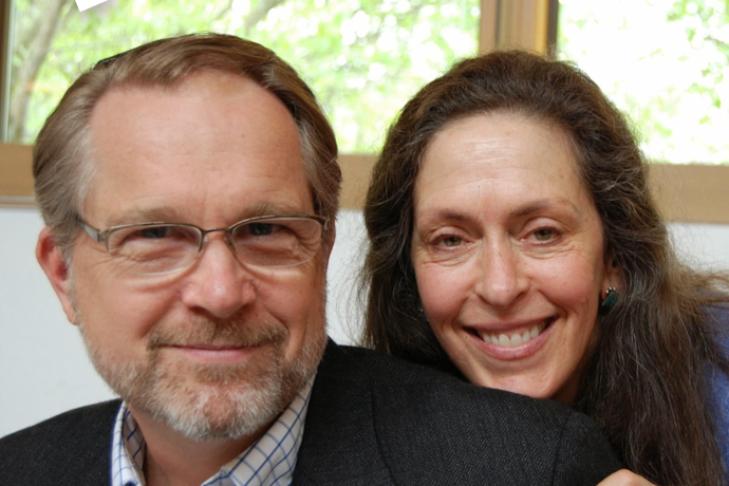 Nancy Kaplan and George Peabody.