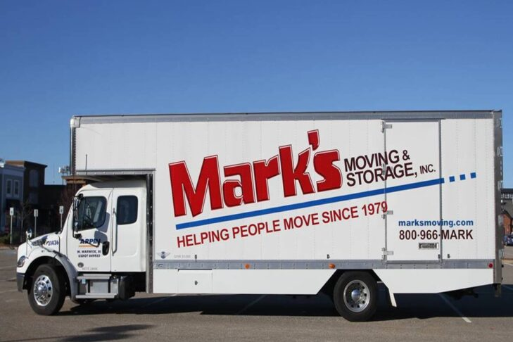 Mark's Moving truck