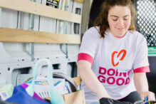 Samantha Oberlander at Community Action Day 2019 (Courtesy photo)