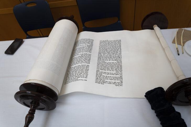 Torah completion and dedication at Harvard Hillel on August 28, 2019
