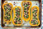 Vegetarian-Stuffed-Butternut-Squash-recipe