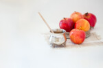 Apples, pomegranate and honey for Rosh Hashanah