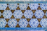 """Iznik tiles, Topkapi Palace in Istanbul.Related images;"""