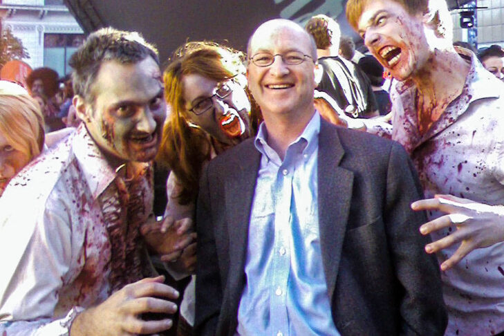 Steven with Toronto Zombies