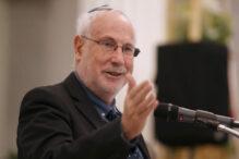 BOSTON, MA - DECEMBER 23:  Israeli Consul General Zeev Boker speaks during a Hanukkah celebration at the State House on December 23, 2019 in Boston, Massachusetts. (Staff Photo By Angela Rowlings/MediaNews Group/Boston Herald)