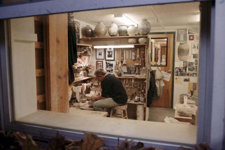 A Father's Kaddish – Steve through window