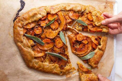 BUTTERNUT, ORANGE, AND SAGE