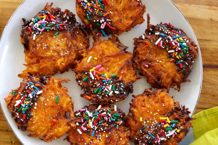 Crispy Sweet Potato Dessert Latkes_5812 copy