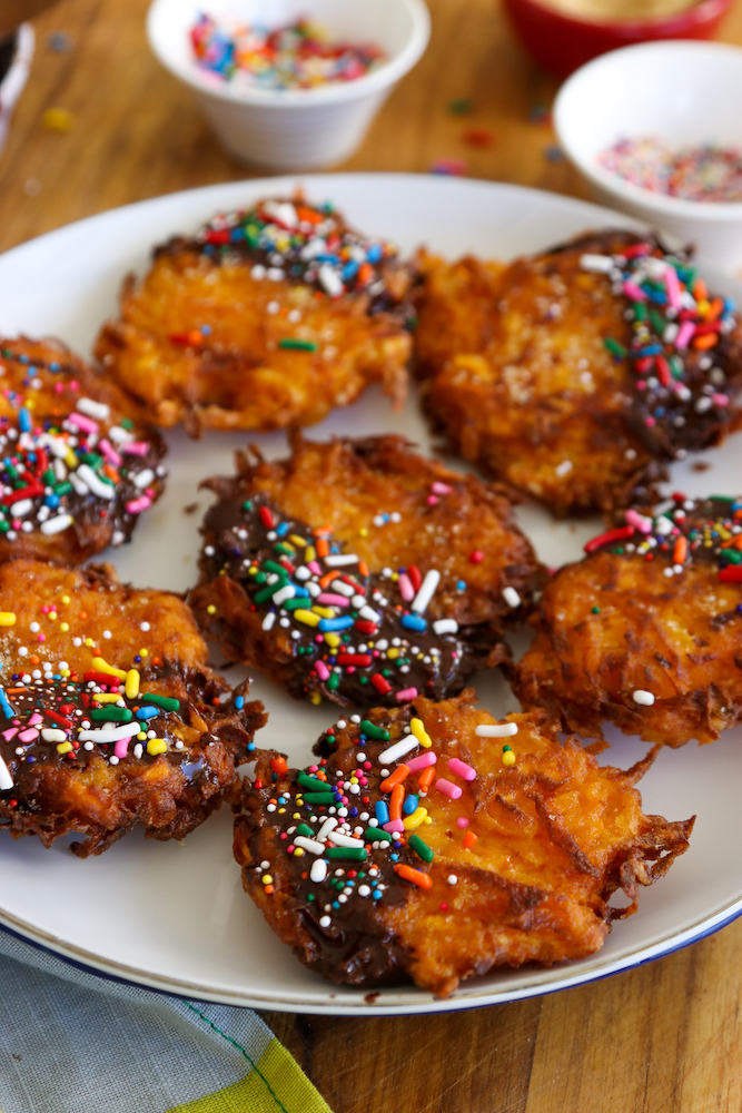 Crispy Sweet Potato Dessert Latkes_5814