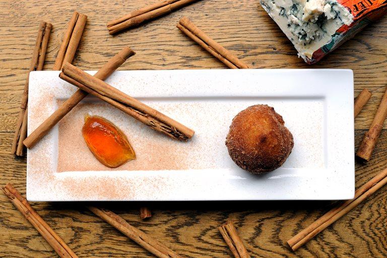 Roquefort Cinnamon Donuts