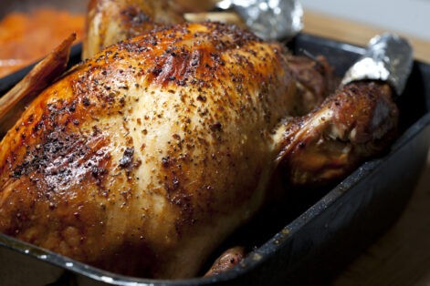 Golden Brown Oven Roasted Turkey