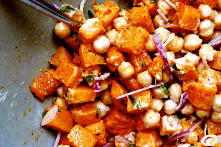warm-butternut-squash-and-chickpea-salad