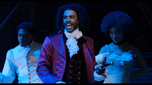 "Daveed Diggs as Thomas Jefferson in ""Hamilton,"" the filmed version of the original Broadway production (Promotional still)"