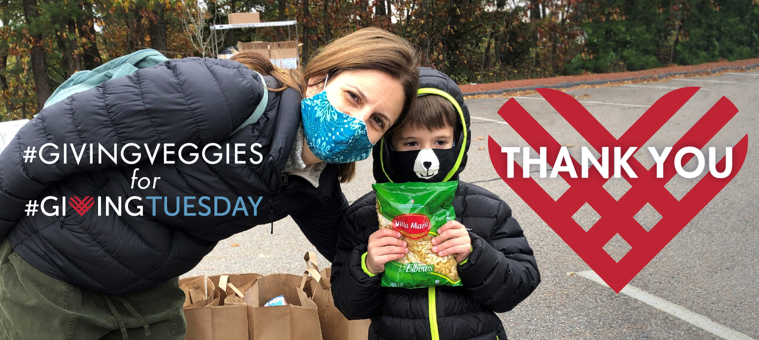 Thank you for Giving Veggies for Giving Tuesday