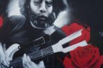 Jerry Garcia Haight Street Tribute Mural Art in San Francisco