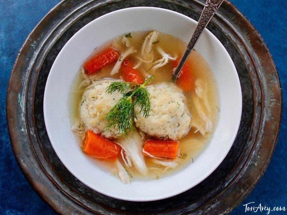 Matzoh Ball Chicken Soup – Tori Avey