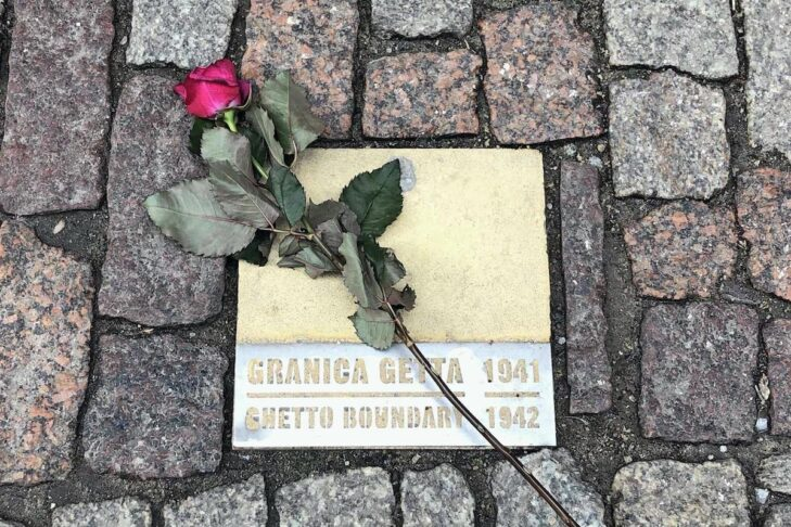 Rose on Ghetto Boundary