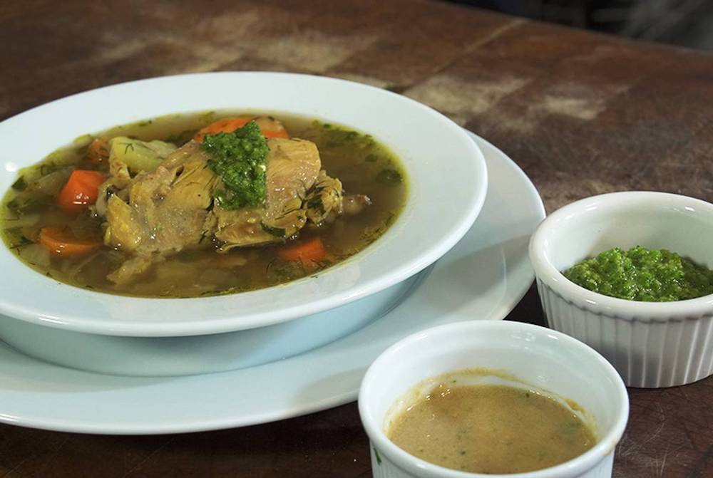 Yemenite Chicken Soup – Tablet