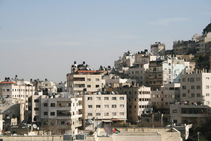 Generic palestinian homes, usable to represent all the cities of the territory. West Bank / Gaza