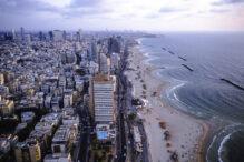 tel aviv front see buildings, hayarkon street, herbert samuel, dan