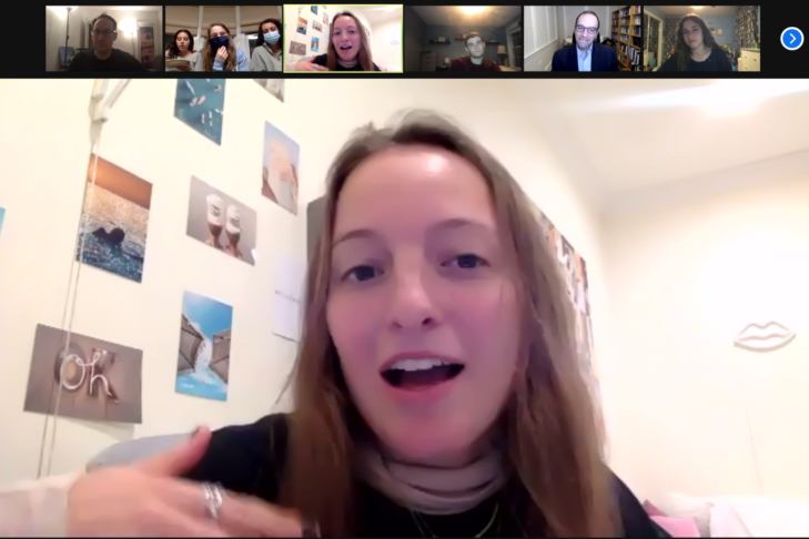 Intercampus Leadership Committee (Screenshot)