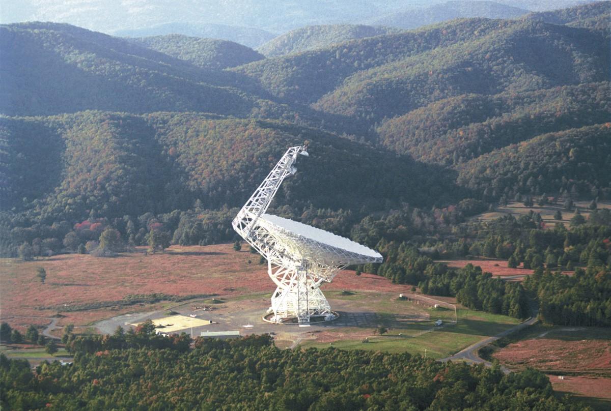 Robert C. Byrd Green Bank Radio Telescope (Courtesy photo: NRAO/AUI)