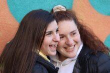 Lucy and Sofia, JTI Peer Leadership Fellows (Courtesy photo)