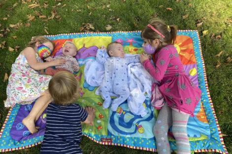 Leora and Robyn's kids (Courtesy photo)