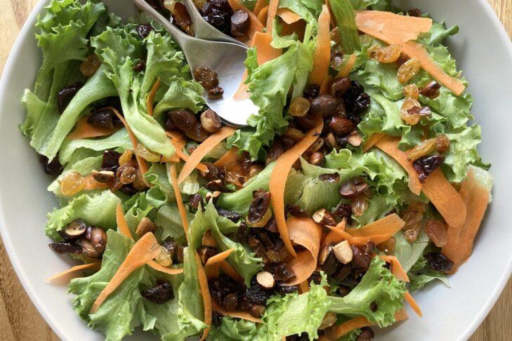 Jeweled Greens Salad