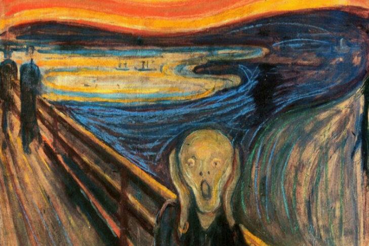 """The Scream"" by Edvard Munch, 1893"