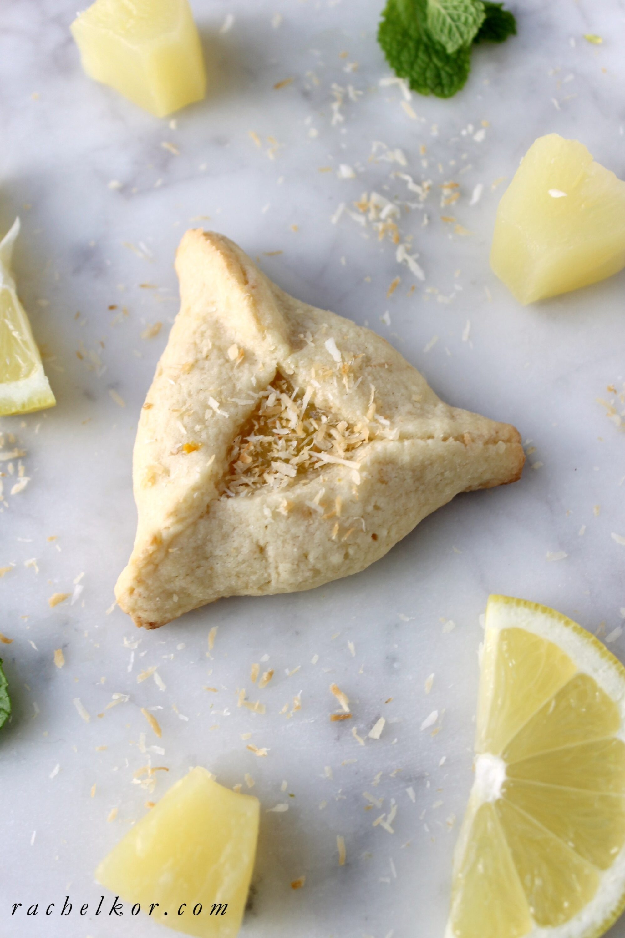 Pineapple Coconut Hamantaschen