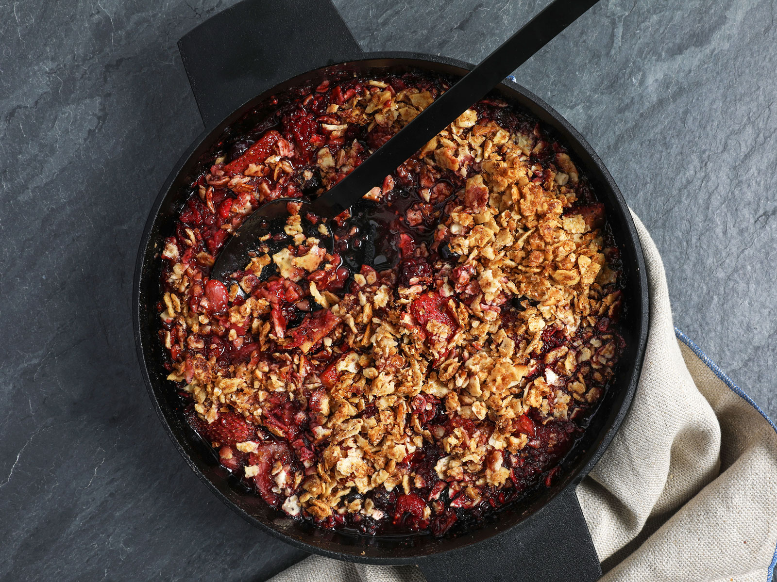 Abby Hocking – mixed berry crisp