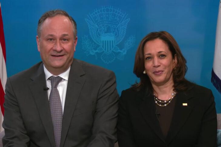 Doug Emhoff and Vice President Kamala Harris (Promotional still: The White House)