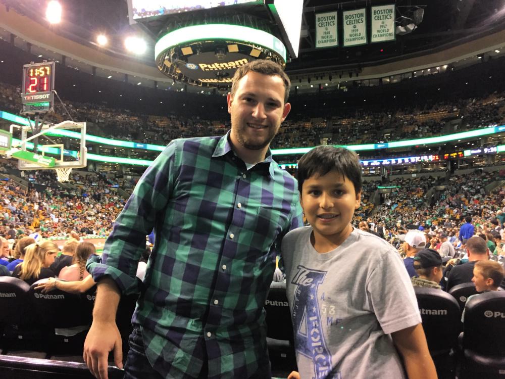 Jeff and Yishai (Courtesy photo)