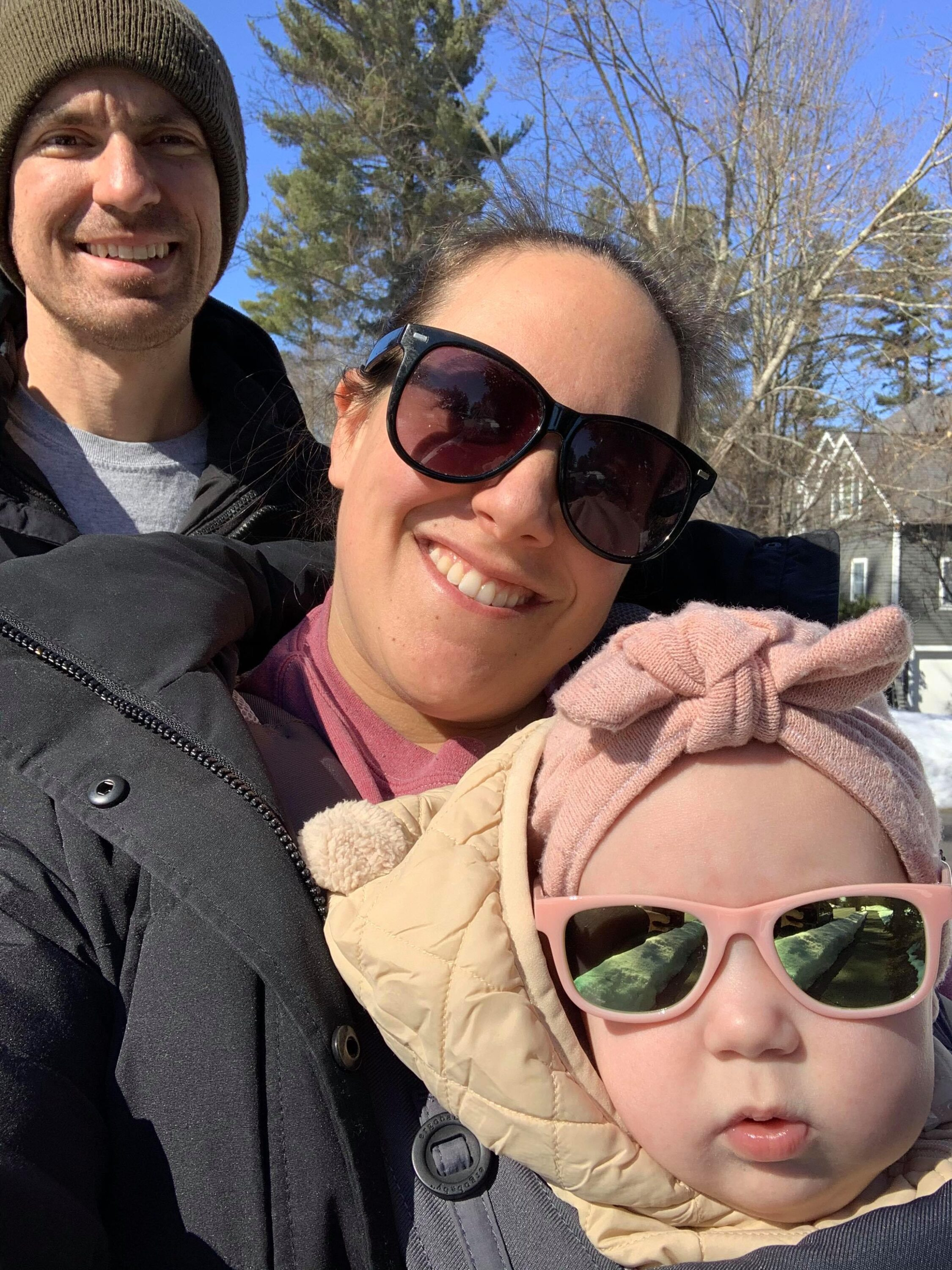 Marla and Greg Mercuri with their daughter, Paulina (Courtesy photo)