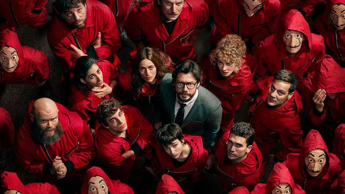 """Money Heist"" (Promotional still: Netflix)"
