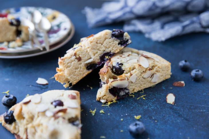 Chanie Apfelbaum's Blueberry Lemon Scones